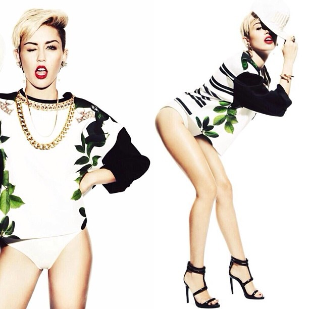 WAHOO Preview of my shoot wt main girl @mileycyrus & @notionMagazine #MileyCyrus #alexisknoxstyling