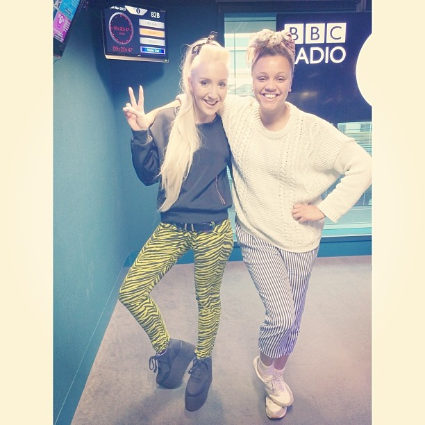 I had a lush morning this morning chatting fashion & taking callers question with @gemagain on BBC Radio 1