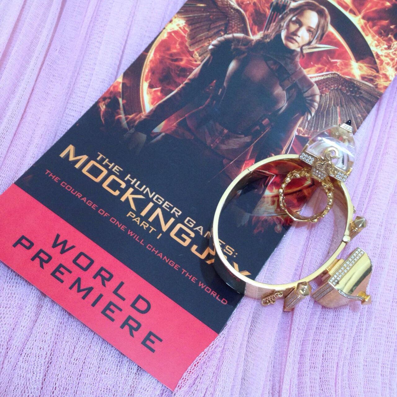 Hunger Games Mockingjay Part 1 Premiere